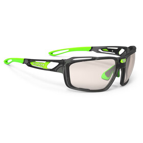 Rudy Project Sintryx Okulary rowerowe zielony/czarny